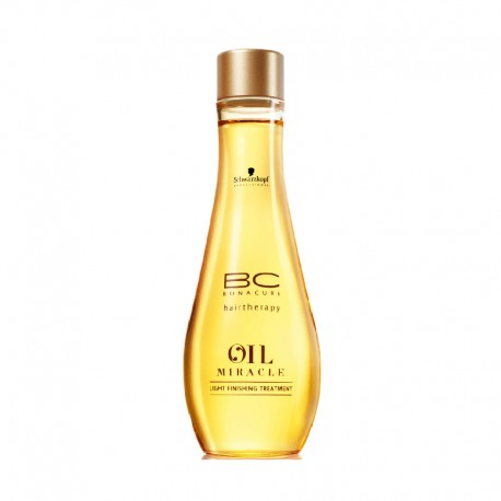 Schwarzkopf BC Oil Miracle Light Finishing Treatment, olejek do włosów cienkich, 100 ml